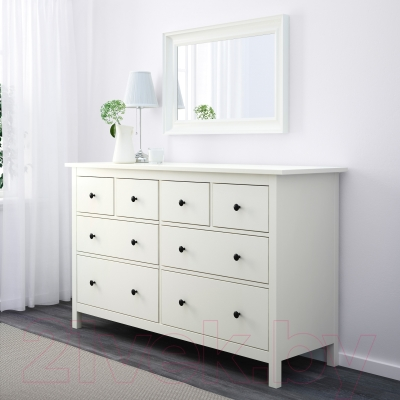 Комод Ikea Хемнэс 602.453.68 (белый)