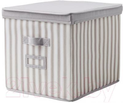 Ящик для хранения Ikea Свира 802.902.89 (серый/белый)
