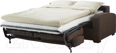 Диван-кровать Ikea Ингельстад 803.003.30 (Хенста темно-коричневый)