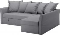 Чехол на угловой диван Ikea Хольмсунд 803.213.61 (серый) -