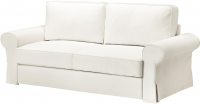 Чехол на диван - 3 местный Ikea Баккабру 803.234.02 (белый) -