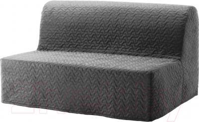 Чехол на диван - 2 местный Ikea Ликселе 803.234.16 (серый)