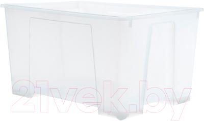 Контейнер для хранения Ikea Самла 901.029.71 (прозрачный)