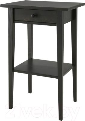 Прикроватная тумба Ikea Хемнэс 901.212.34 (черно-коричневый)