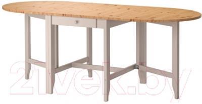 Обеденный стол Ikea Гэмлеби 602.470.27 (светлая морилка антик/серый)