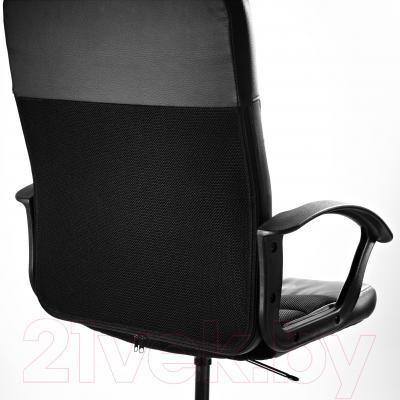 Кресло офисное Ikea Вингал 901.965.97 (черный) - вид сзади
