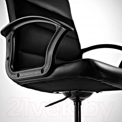 Кресло офисное Ikea Вингал 901.965.97 (черный) - регулировка высоты сиденья