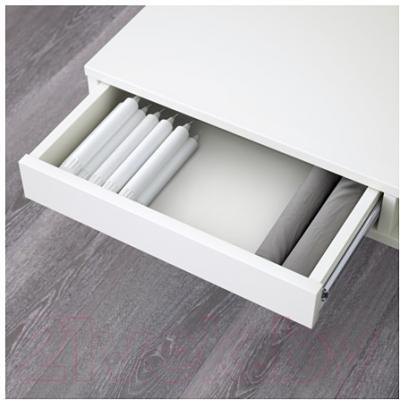 Журнальный столик Ikea Тофтерид 901.974.84 (белый глянцевый)