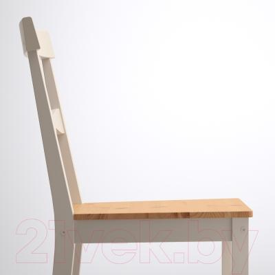 Стул Ikea Гэмлеби 602.470.51 (морилка антик/серый)