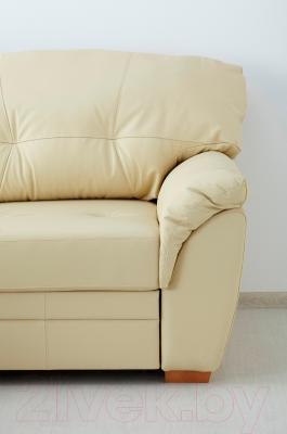 Угловой диван-кровать Ikea Бьербу 902.226.95 (бежевый)