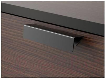 Комод Ikea Трисил 902.360.27 (темно-коричневый/черный)