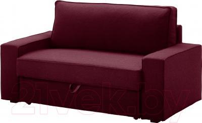 Чехол на диван - 2 местный Ikea Виласунд 902.430.61 (красно-сиреневый)