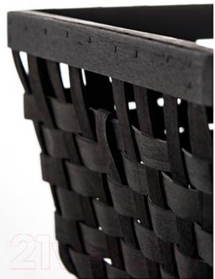 Корзина Ikea Кнарра 902.433.15 (черно-коричневый)