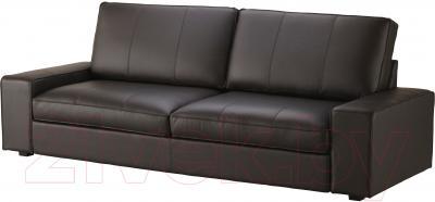 Диван-кровать Ikea Кивик 902.543.75 (темно-коричневый)