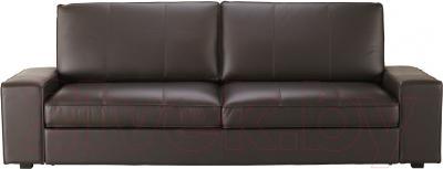 Диван-кровать Ikea Кивик 902.543.75 (темно-коричневый) - вид спереди