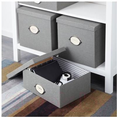 Ящик для хранения Ikea Кварнвик 902.566.71 (серый)