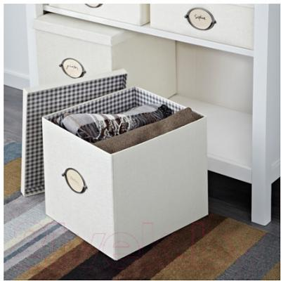 Ящик для хранения Ikea Кварнвик 902.566.90 (белый)