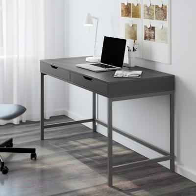 Письменный стол Ikea Алекс 902.607.10 (серый)