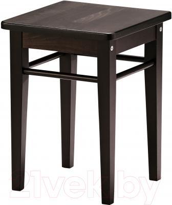 Табурет Ikea Янерик 902.684.43 (черно-коричневый)