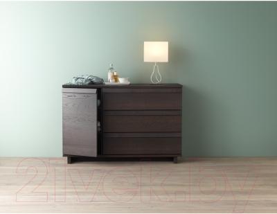 Комод Ikea Оппланд 902.691.50 (коричневая морилка/ясеневый шпон)