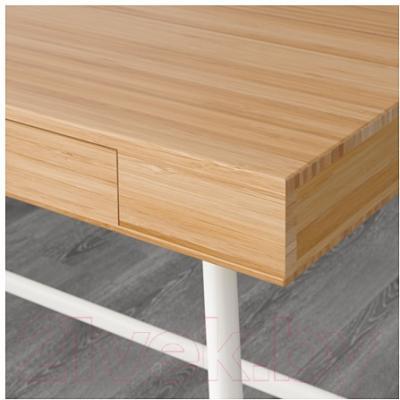 Письменный стол Ikea Лиллосен 902.782.77 (бамбук)
