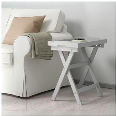 Сервировочный столик Ikea Марюд 902.927.25 (серый) - в интерьере