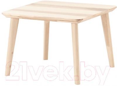 Журнальный столик Ikea Лисабо 902.976.57 (ясеневый шпон)