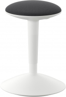 Табурет Ikea Нильс-Эрик 903.097.21 (белый/серый) -