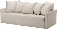 Чехол на диван - 3 местный Ikea Хольмсунд 903.213.65 (бежевый) -