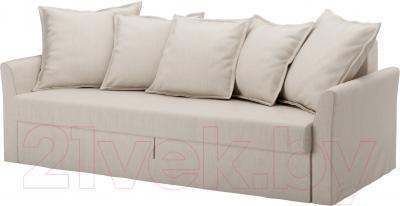 Чехол на диван - 3 местный Ikea Хольмсунд 903.213.65 (бежевый)