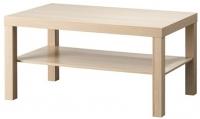 Журнальный столик Ikea Лакк 903.364.56 (беленый дуб) -