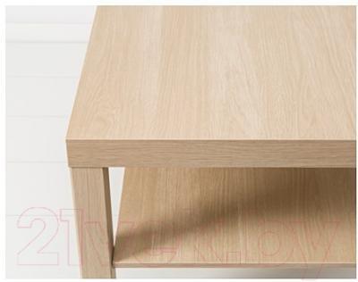 Журнальный столик Ikea Лакк 903.364.56 (беленый дуб)