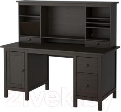 Письменный стол Ikea Хемнэс 090.005.00 (черно-коричневый)