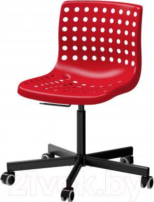 Стул офисный Ikea Сколберг/Споррен 090.236.10 (красный/черный)