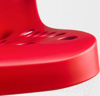Стул офисный Ikea Сколберг/Споррен 090.236.10 (красный/черный) - пластиковое сиденье