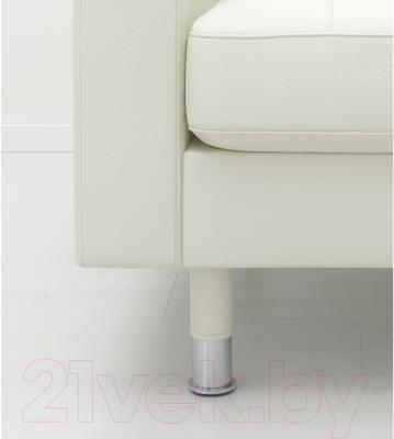 Диван Ikea Ландскруна 090.317.66 (белый/металл) - хромированные ножки