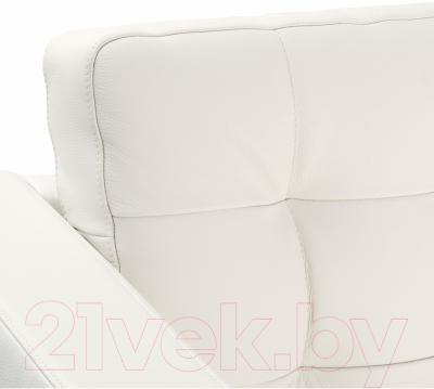 Диван Ikea Ландскруна 090.317.66 (белый/металл)