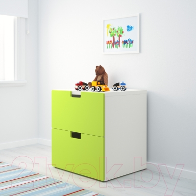 Комод Ikea Стува 090.990.68 (зеленый)