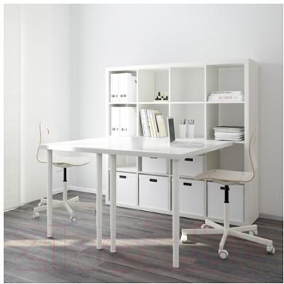 Компьютерный стол Ikea Каллакс 091.230.87 (белый)