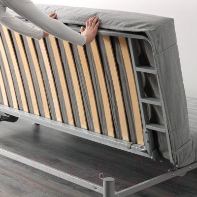 Диван-кровать Ikea Бединге Левос 091.289.85 (Книса светло-серый)
