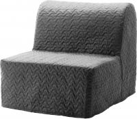Кресло-кровать Ikea Ликселе Ховет 091.341.42 (серый) -