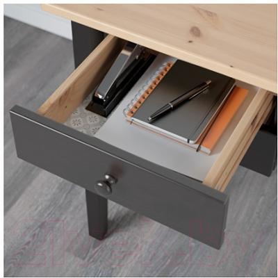 Письменный стол Ikea Аркельсторп 602.610.37 (черный)