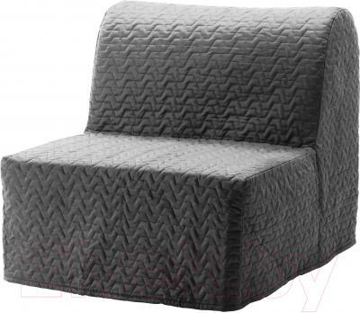 Кресло-кровать Ikea Ликселе Левос 091.341.56 (серый)