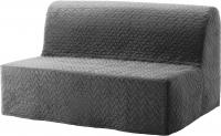 Диван-кровать Ikea Ликселе Левос 091.499.35 (Валларум серый) -