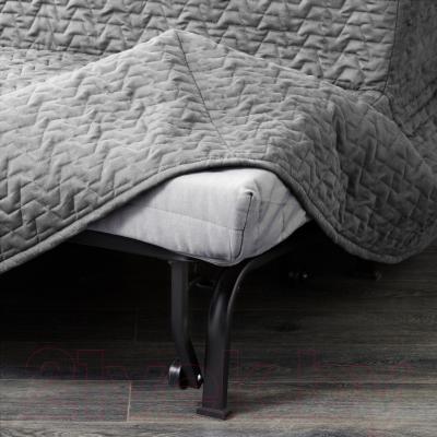 Диван-кровать Ikea Ликселе Левос 091.499.35 (Валларум серый) - съемный чехол