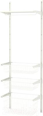 Система хранения Ikea Альгот 091.652.37