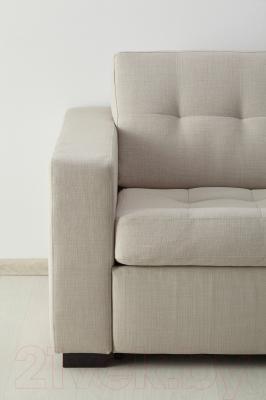 Диван-кровать Ikea Клагсторп/Лэннэс 091.670.00 (светло-бежевый)