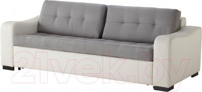 Диван-кровать Ikea Лиарум / Ласеле 091.720.68 (оннарп серый/бумстад белый)