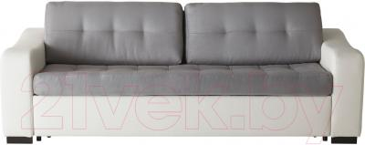 Диван-кровать Ikea Лиарум / Ласеле 091.720.68 (оннарп серый/бумстад белый) - вид спереди