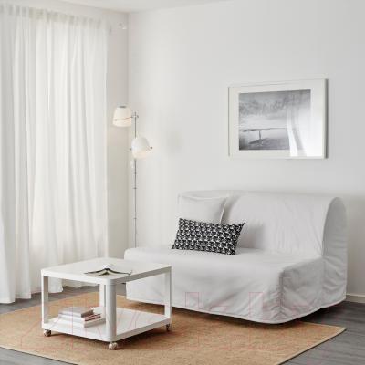 Диван-кровать Ikea Ликселе Левос 098.400.88 (Ранста белый) - в интерьере